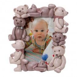 Porta retrato vários ursos vertical Modali