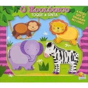 Livro Toque e sinta: O zoológico