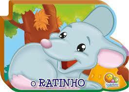 pe livro filhotes rechonchudos - ratinho