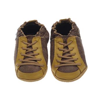 Tenis cool marrom/amarelo babouabu P