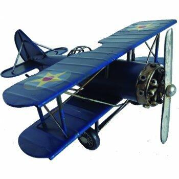Avião estrela azul 25cm Avalon