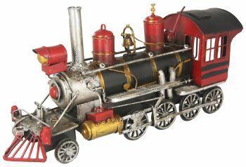 Locomotiva vermelha 33,5cm Avalon