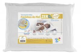 Travesseiro favinhos de mel baby 0+ Z4956 Fibrasca
