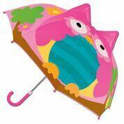 Guarda-chuva infantil 3D coruja bup baby 1525