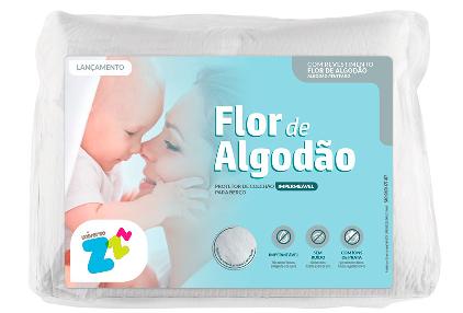 Protetor de berço Flor de Algodão 9758 Fibrasca