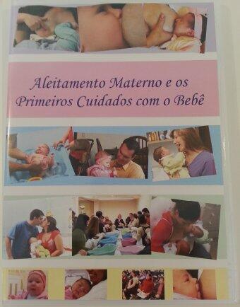 dvd aleitamento e primeiros cuidados c/o bebê