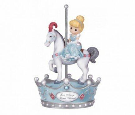 Caixa de musica Cinderela no cavalo Modali 131110