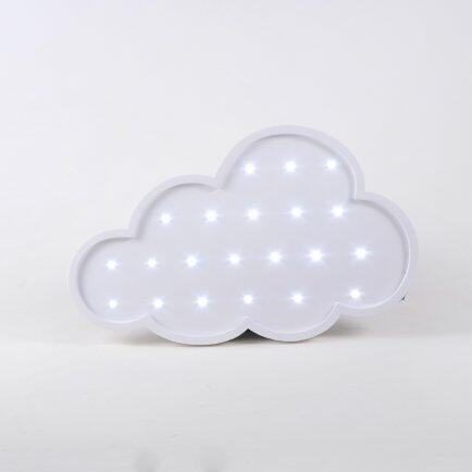 pe Luminoso Nuvem Branca