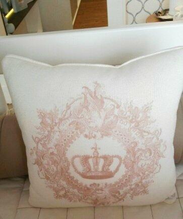 Almofada coroa fancy FAU