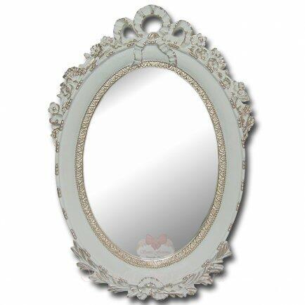Kit 5 espelhos branco e fendi