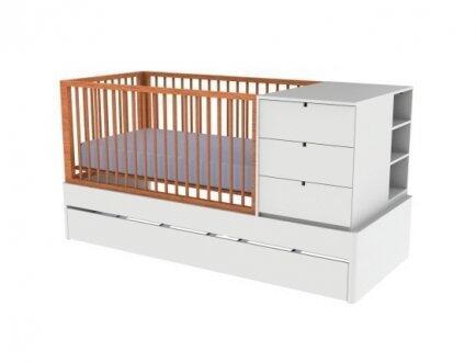 Berço c/ grade fixa Cama/cama aux UVF/madeira