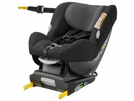 pe Cadeira auto Milofix Maxi Cosi Black Raven