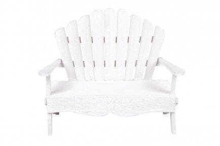 Cadeira de madeira branca p/pelucia 4571