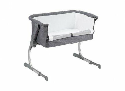 Berço side by side safety 1st gray