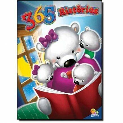 Livro 365 historias - edição luxo