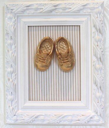 pe Quadro sapatinho dourado q11 A0027