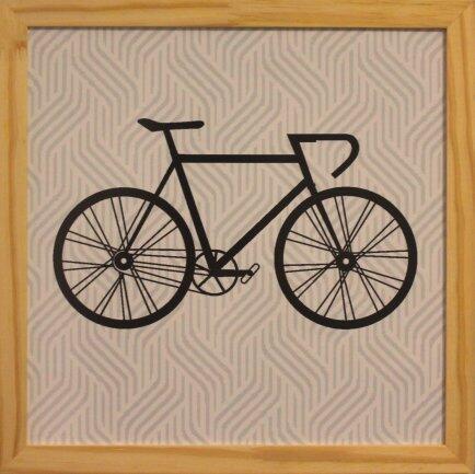 Quadro 33 x 33cm arte digital hipster Clarear