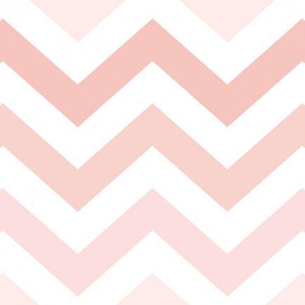 Papel parede RENASCER - Chevron rosa 6234