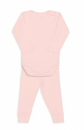 i18 Kit body/calça canelado GG rosa 0880 Dedeka