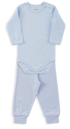 i18 Kit body/calça ribana azul GG 0910 Dedeka