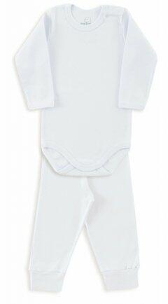 Kit body/calça ribana GG branco 0910 Dedeka