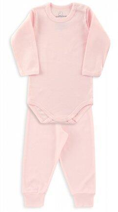 i18 Kit body/calça ribana rosa GG 0910 Dedeka