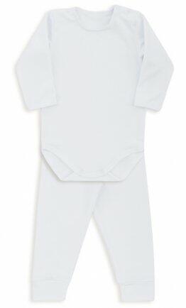 i18 Kit body/calça thermo dry branco GG1460 Dedeka