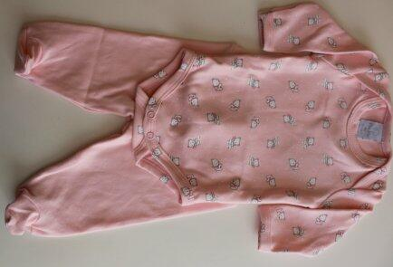 Conjunto body calça ursinha polar rosa RN Piu-Piu