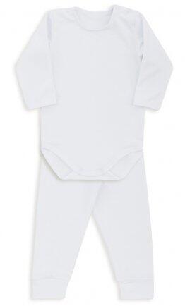 i18 Kit body/calça thermo dry branco G 1460 Dedeka