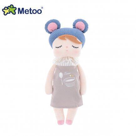 Boneca Metoo Angela doceira 33cm azul buga baby