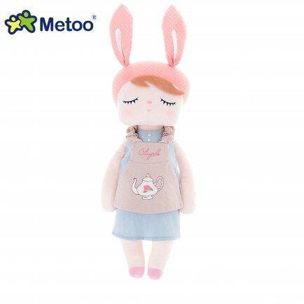 Boneca Metoo Angela doceira 40cm rosa buga baby