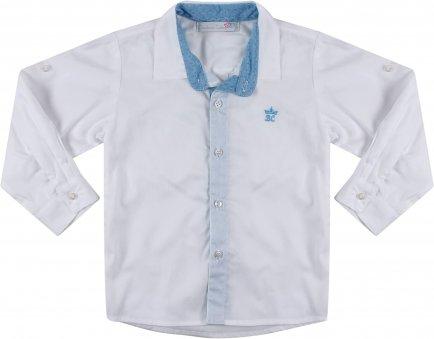 i18 Camisa branca det az claro G Barbara Kids 7420
