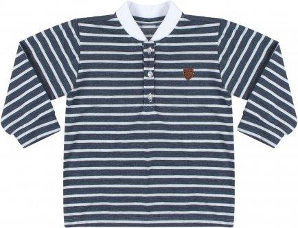 i18 Camiseta listrada marinho T1 Barbara Kids 7426