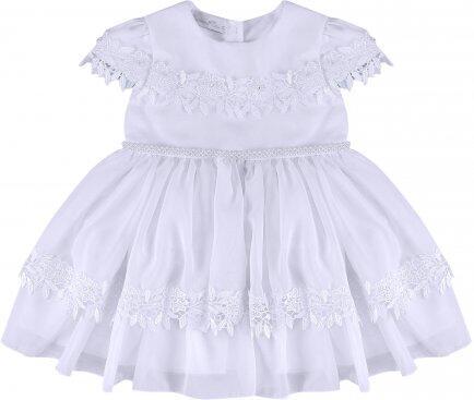 i18 Vestido voal c/guipir G Barbara Kids 2452