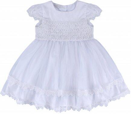 i18 Vestido guipir florzinhas P Barbara Kids 2456
