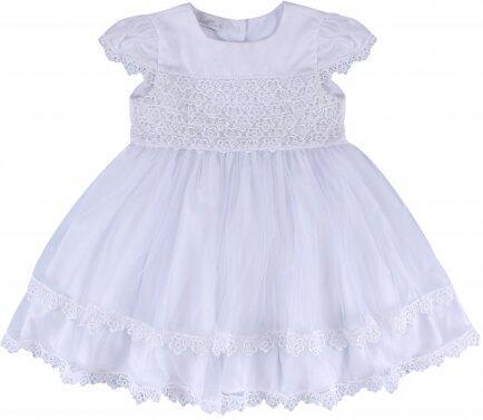 i18 Vestido guipir florzinhas M Barbara Kids 2456