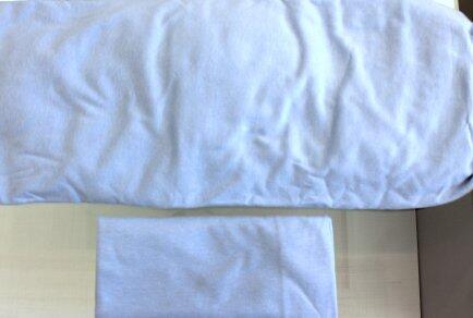 kit lençol oval elastico + fronha crescer 2ªf - AZ