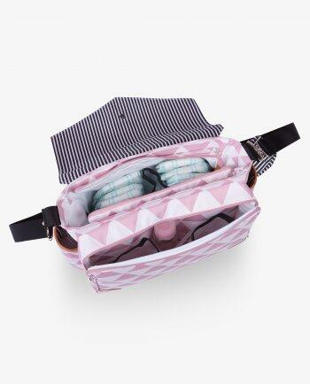Bolsa térmica mommy manhattan rosa