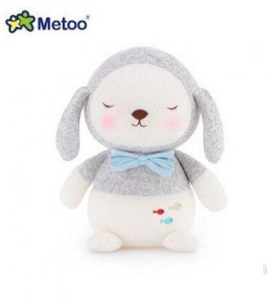 Pelúcia metoo cachorro cinza bup baby 2267
