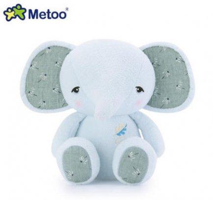 Pelúcia metoo elefante azul bup baby 2274