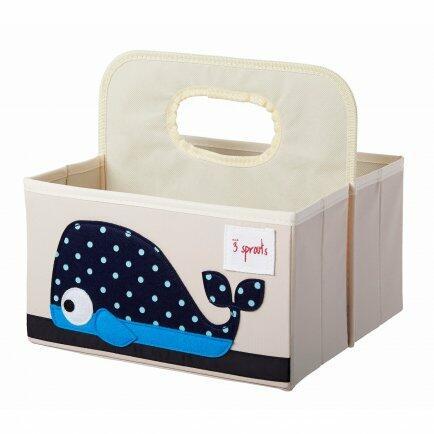 Organizador de fraldas baleia azul bup baby 2413