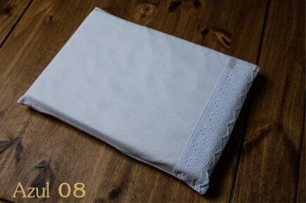 Travesseiro anti sufocante premium c/renda AC Baby