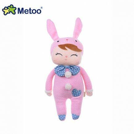 Boneca metoo Angela pink bunny 33cm bup baby 2024