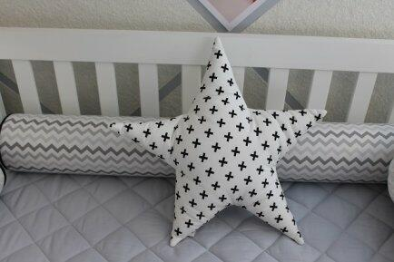 Almofada decorativa estrela - Qmama