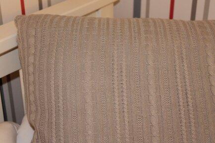 Almofada tricot 45x55 Charmant  Vanessa Gui
