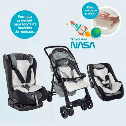 Assento estofado Baby Comfort GrafitZ4446 Fibrasca