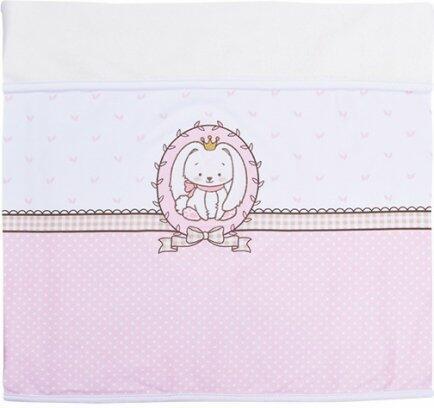 Manta baby fleece coelhinho rosa Colibri