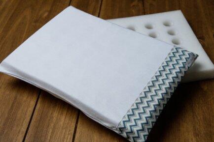 Travesseiro c/fronha anti sufocante 22x32cmAC Baby
