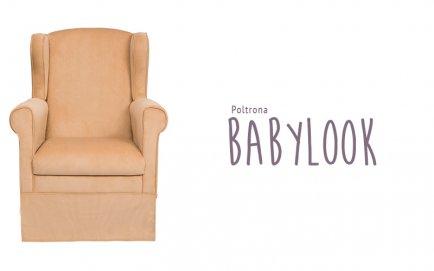 Encomenda Poltrona Babylook + Puffe Gama com saia show room com desconto especial