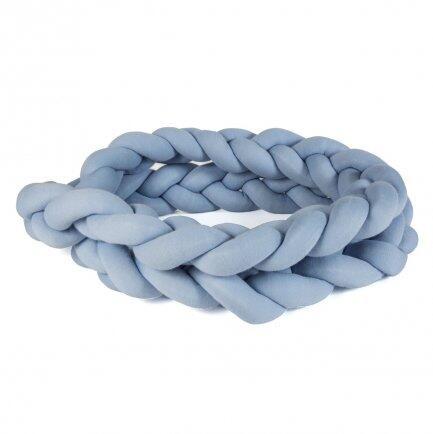 Trança p/berço tricô azul 4m Creative Biah